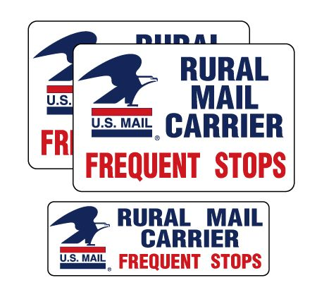 Rural Mail Carrier Sign Kit Image 1