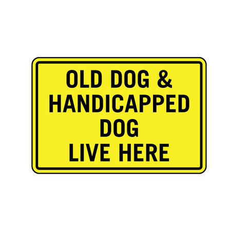 Old Dog sign image