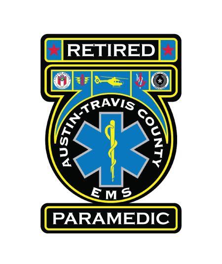 Retired Par Austin Travis County EMS decal image