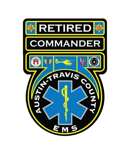 Retired Commander ATC EMS Decal Image