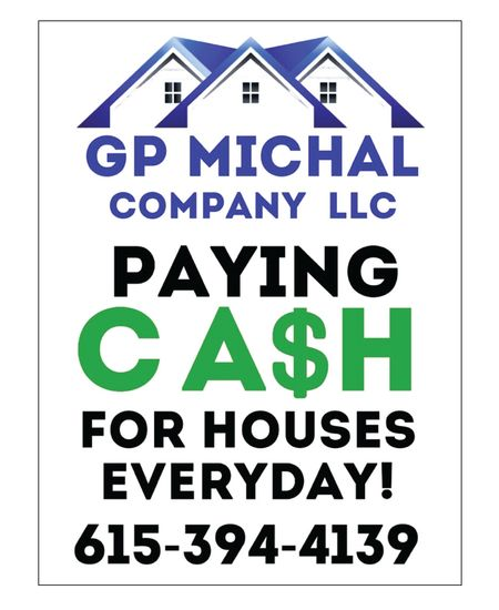 GP Michal yard sign image