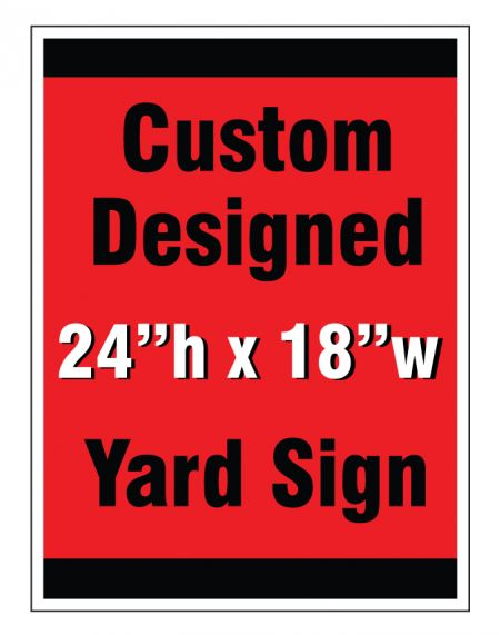 Custom design yard sign 2 image