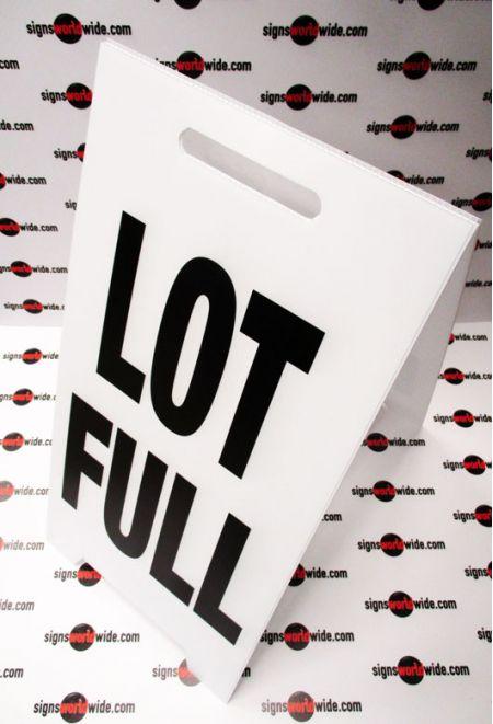 Lot Full A-frame sign image 1
