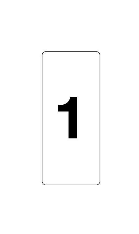 Identification plate V image