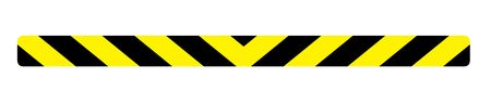 "Caution Stripe 3"" x 44"" Sign Image"