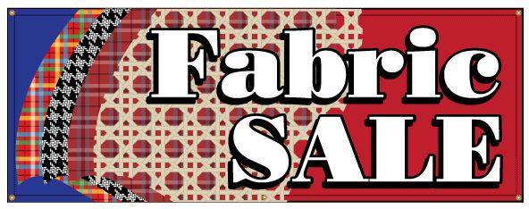 Banner Fabric Sale